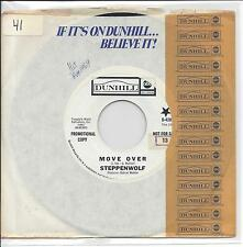 "Steppenwolf - ""Move Over"" b/w ""Power Play"" 45 rpm single wl pr"