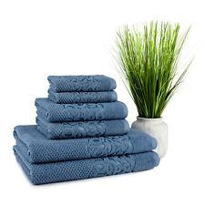 Galata Turkish Cotton Towel 6 pcs Set (2 Bath Towel, 2 Hand Towel, 2 Washcloth)