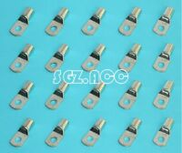 2 GAUGE 2 AWG X 3/8 in TINNED COPPER LUG BATTERY CAB LE CONNECTOR TERMINAL 20x