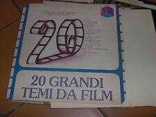LP 20 GRANDI TEMI DA FILM VERSIONI ORIGINALI MIA FARROW STEPPENWOLF EX/N-MINT