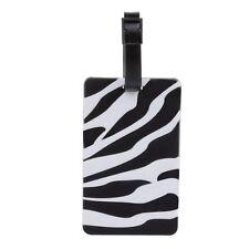 NOV@GO® Etiquette bagages/étiquette valise Zebra Noir et Blanc