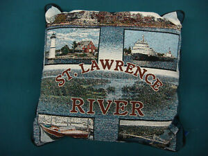 New Decorative Throw Pillow St. Lawrence River  #28