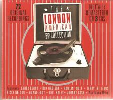 THE LONDON AMERICAN EP COLLECTION - 3 CD BOX SET- BLUES, ROCK N ROLL, R&B & MORE