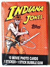 Topps INDIANA JONES and the TEMPLE of DOOM Sealed Trading Card Pack (1984)