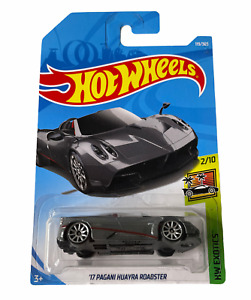Hot Wheels '17 Pagani Huayra Roadster - HW Exotics - Combined Postage Available