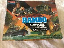 Monogram Rambo Attack Set 1/48 Factory Sealed Model Kit 'Sullys Hobbies'