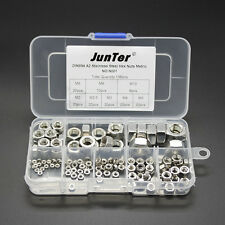 Qty138 M2-M10 A2 Stainless Steel Hex Nuts Metric DIN934 Assortment Kit NO.N001