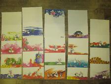 Diddl Block Blätter Sammlung * 19 Stück * DIN A4  * rar * Sammlerstücke