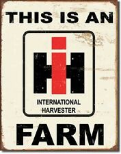 This Is An International Harvester Farm TIN SIGN Tractor Wall Metal Poster