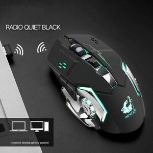 Hot Rechargeable X8 Wireless LED Backlit USB Optical Ergonomic Gaming Mouse