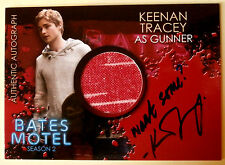 "BATES MOTEL - KEENAN TRACEY as Gunner ""Want Some?"" Costume + Autograph - CAKT"