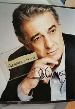 Placido Domingo Signed Three Tenors Autograph COA Proof
