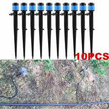 10X 360° Home Garden Water Spray Nozzle Sprinkler Set Dripper Irrigation System