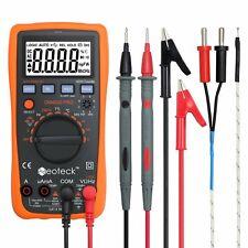 Neoteck Multimeter 4000 Counts Auto Manual Ranging Digital Multimeter AC/DC