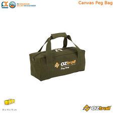 OZtrail Canvas Tent Peg Bag