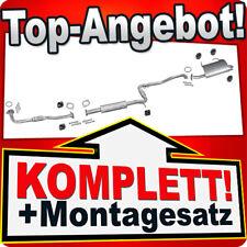 Auspuff NISSAN PRIMERA (WP11) 2.0 Kombi 1998-1999 +Rohr Auspuffanlage L48