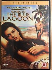Milla Jovovich Return to the BLU LAGUNA ~1991 EROTICO Shipwreck SEQUEL UK DVD