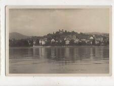 Clarens & Chateau Des Cretes Switzerland 1931 RP Postcard 381b