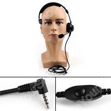 1x Single Side Overhead PTT Headset For YAESU VX-160/168/351 FT-50R Radio