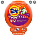 5 Tubs of 3 in 1 Tide Pods, Three 57 count and Two 42 count