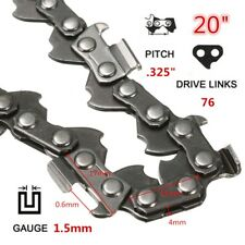 "20"" 76 Links Replacement Chainsaw Saw Mill Ripping Chain For Timberpro 62CC"