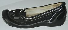 "PRIVO by CLARKS ""Mesa"" Black Nubuck Leather Casual Slip-Ons Sz 6.5 M GC ~COMFY~"