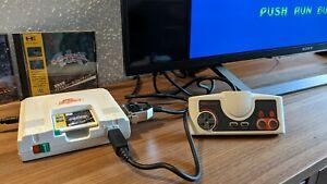 Original PC-Engine jap., wie neu, inkl. OVP, RGB u. 2 Top-Games!