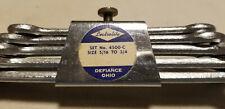Vintage Lectrolite Set No. 4500-C Open End 5 Pc Wrench Set Size 5/16 To 3/4 /NOS