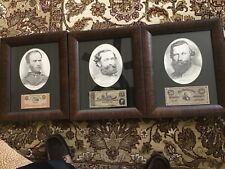 New listing Framed photos of Confederal Generals
