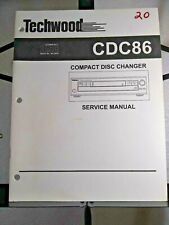Techwood Service Manual for Compact Disc Changer Model CDC86