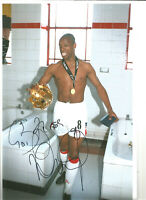 Ian Wright Arsenal Signed 12x8 inch hand signed authentic football photo S0010