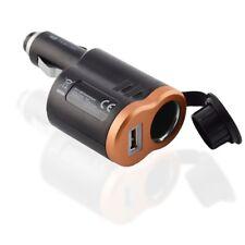 Kfz Zigarettenanzünder Stecker Adapter Ladeadapter Netzteil 1x USB Buchse