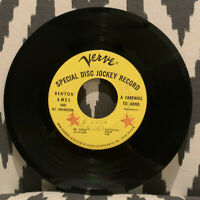 """BENTON AMES: love theme from """"el cid"""" / a farewell to arms 45RPM 718A"""