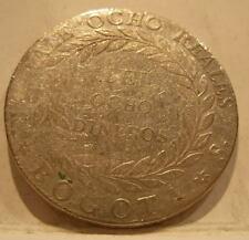 Colombia Republic of Nueva Granada 1840 RS Silver 8 Reales VF