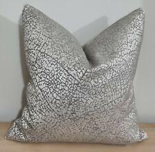 Romo Kenza Cobblestone & Omega Velvet Cushion Cover 50x50 cm