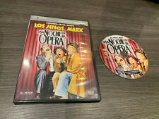 LOS HERMANOS MARX DVD UNA NOCHE EN LA OPERA