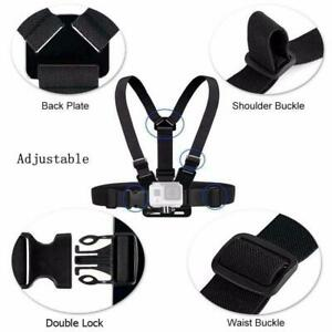 Chest Strap Adjustable Harness Mount for GoPro HERO 3 4 5 6 7 8 9 Action Camera
