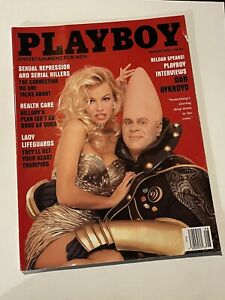 Playboy Magazine August 1993 Pamela Anderson Dan Aykroyd Conehead Issue Original