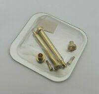 CARTIER B.MOB. LUG. Armband Schrauben Feder Stege 18K Goldaflage(Plaque) 18mm