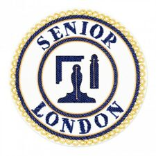 Senior London Grand Rang Déshabiller Tablier Badge