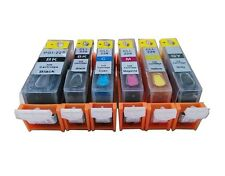 6 Refillable ink for canon PGI-220 CLI-221 MP560 MP620 with gray