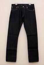 NEW Ralph Lauren Black Label Dark Indigo Rinsed Selvedge Denim Jeans 30 x 30