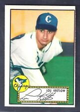 1952 Topps #42 Lou Kretlow Pitcher Red Back Chicago White Sox NM-MT (MC)