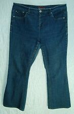 Thin STRETCHY Indigo Denim Low Boot Cut TOMMY HILGFIGER Hope Jeans! 16R