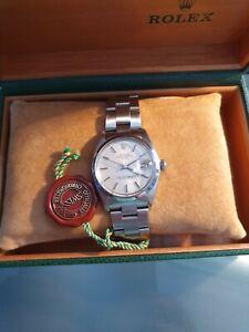 Rolex Oyster Perpetual Date Grey Unisex Adult Watch - 1501  1980        px bike