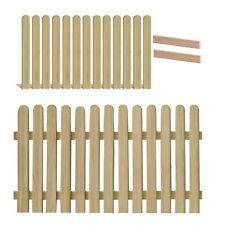 Gartenpirat Lärche Holzpaket für Lattenzaun mit 13 Zaunlatten - Holz, 180x90 cm (GP2068P)