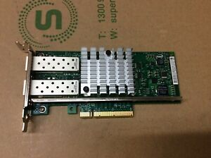 Intel Ethernet server Adapter X520-SR2 10Gbps Dual Port PCI-E E10G42BFSR