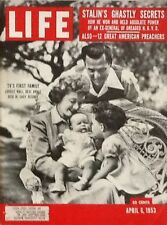 LUCILLE BALL - LIFE MAGAZINE -  APRIL 6, 1953 (TV's FIRST FAMILY)