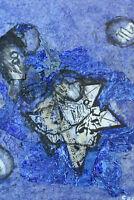 Tableau Contemporain Abstrait XXéme Gabriella Benedini Italie Collage peinture