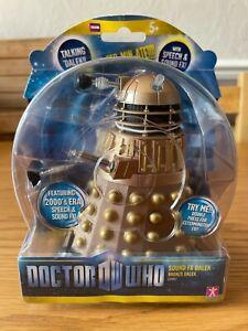 Doctor Who Sound FX Dalek - Bronze Dalek (2005) * New * Sealed *